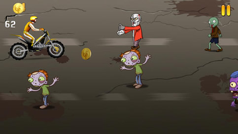 Bikes and Zombies Game FREE - 2