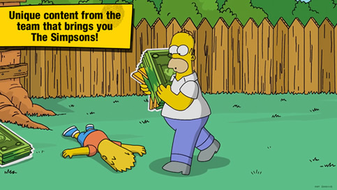 The Simpsons Tapped Out - 1