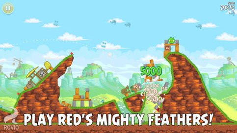 Angry Birds Free - 5