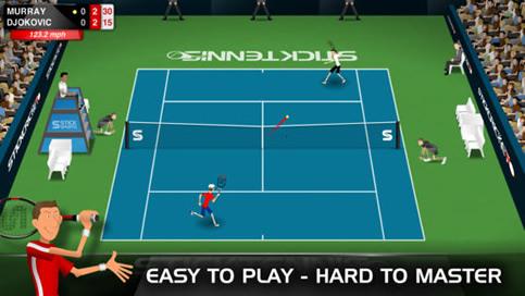 Stick Tennis - 1