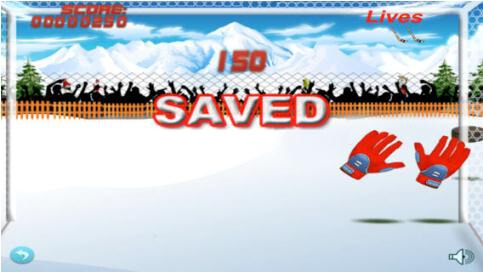 Flick Ice Hockey Goalie - 2