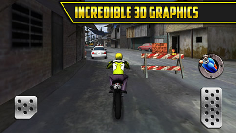 3D Motor Bike Drag Race - 4