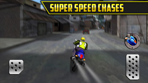 3D Motor Bike Drag Race - 3