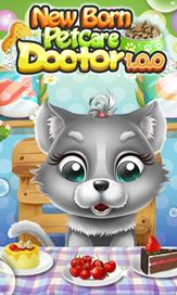 Newborn Pet Care Doctor - Fun Games - 3