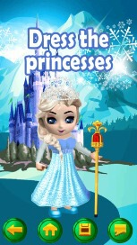 My Little Snow Princess Virtual World Dress Up Game - 1