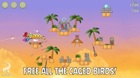 Angry Birds Rio - 5