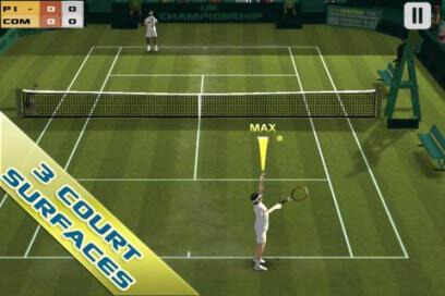Cross Court Tennis Free - 1