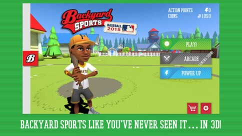 Backyard Sports Baseball 2015 - 1