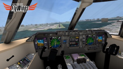 Flight Simulator FlyWings Online 2014 Free - New York - 2