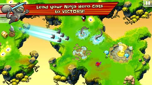 Ninja Hero Cats - 2