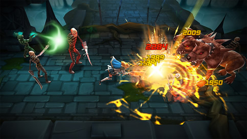 Blade Warrior HD - Epic 3D RPG - 1