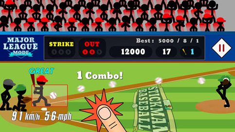 Stickman Baseball - 1