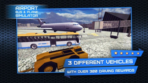 3D Airport Bus and Air-Plane Simulator - 2