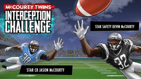 McCourty Twins: INT Challenge - 1