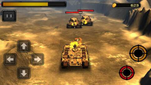 3D War of Tank - 2