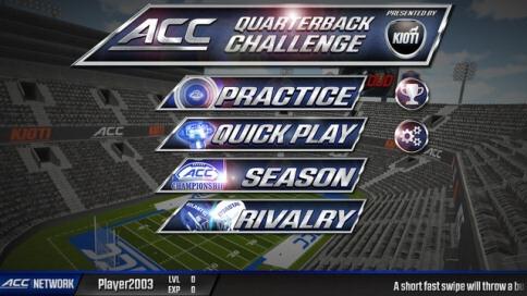 ACC QB Challenge - 4