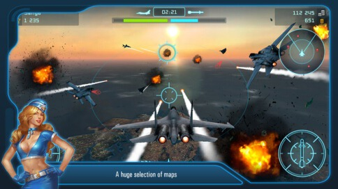 Battle of Warplanes - 1