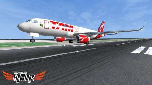 Flight Simulator FlyWings Online 2014 Free - New York - 3
