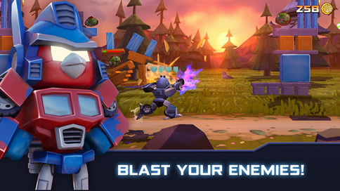Angry Birds Transformers - 14