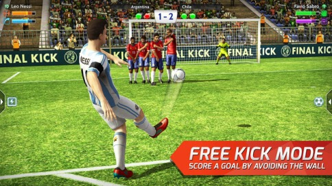 Final Kick: The best penalty free kick game - 2