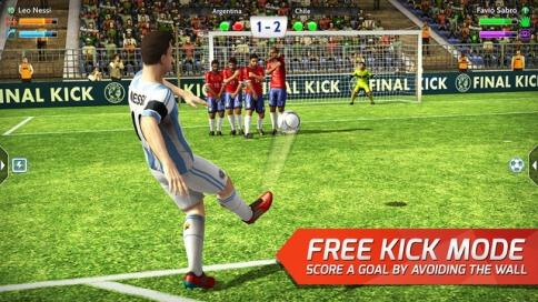 Final Kick: The best penalty free kick game - 2