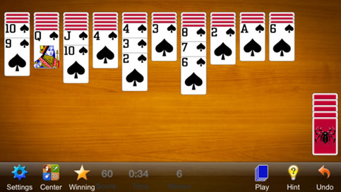Spider Solitaire Free - 2