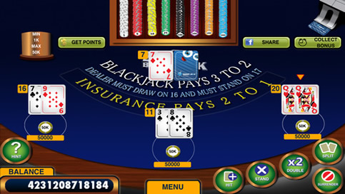 Blackjack 21 - 3