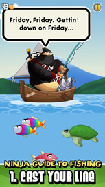 Ninja Fishing - 2