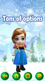My Little Snow Princess Virtual World Dress Up Game - 59