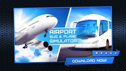 3D Airport Bus and Air-Plane Simulator - 1