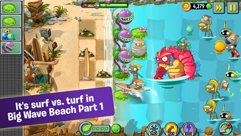 Plants vs Zombies 2 - 1