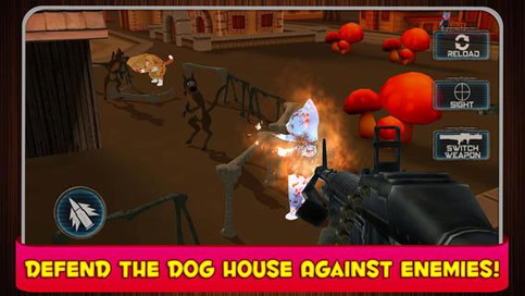 Agent Scooby Dog House Defense - 1