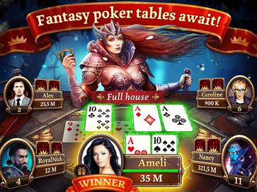 Scatter HoldEm Poker - Texas Online Poker Game - 2