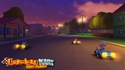 Garfield Kart Fast & Furry - 60