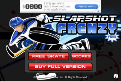 Slapshot Frenzy Ice Hockey Free - 1