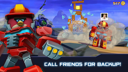 Angry Birds Transformers - 4