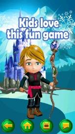 My Little Snow Princess Virtual World Dress Up Game - 5