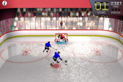Slapshot Frenzy Ice Hockey Free - 2