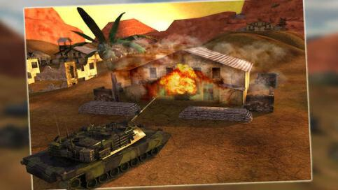 3D Battlefield Tank Simulator : Real Train & Target Driving & Simulator Cool Game - 2
