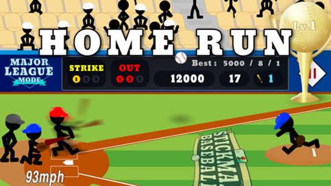 Stickman Baseball - 3
