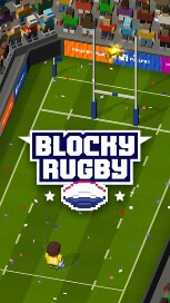 Blocky Rugby - Endless Arcade Runner - 1