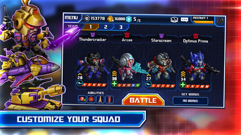 TRANSFORMERS Battle Tactics - 4