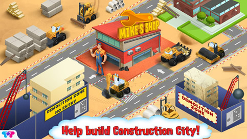 Mechanic Mike 3 Construction City - 3
