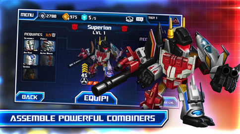 TRANSFORMERS Battle Tactics - 5