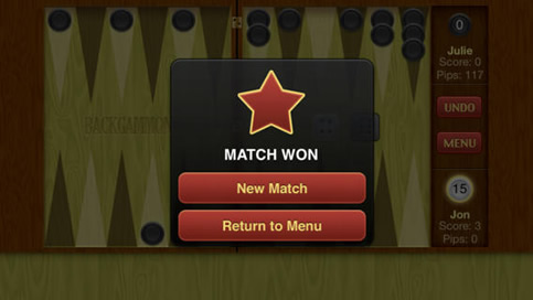 Backgammon Free - 2