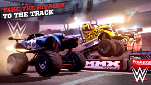 MMX Racing Featuring WWE - 1