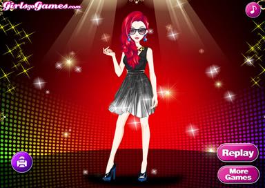 Black Style Dresses Girl - 2