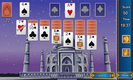 Taj Mahal Solitaire - 58