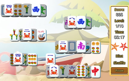 Happy Summer Mahjong - 2