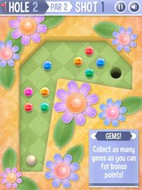 Mini Putt: Gem Garden - 3